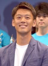 映画『青空エール』 完成披露舞台あいさつに出席した竹内涼真 (C)ORICON NewS inc.