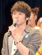 映画『青空エール』 完成披露舞台あいさつに出席した山田裕貴 (C)ORICON NewS inc.