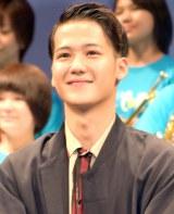 映画『青空エール』 完成披露舞台あいさつに出席した葉山奨之 (C)ORICON NewS inc.