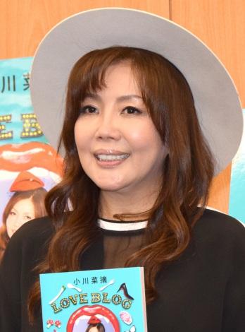著書『LOVE BLOG』刊行記念トークショーを行った小川菜摘 (C)ORICON NewS inc.