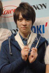 グランプリに選ばれた沖縄県出身、16歳の西銘駿 (C)ORICON NewS inc.