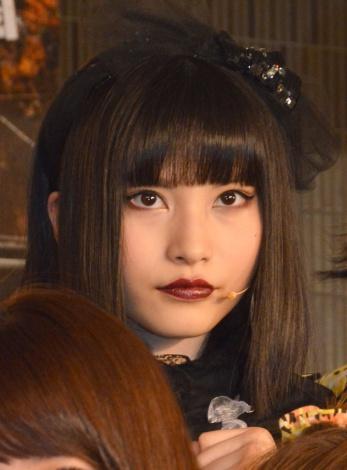 『「マジすか学園」〜Lost In The SuperMarket』公開ゲネプロに出席したAKB48・福岡聖菜 (C)ORICON NewS inc.