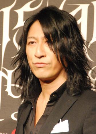 日本最大級のヴィジュアル系音楽フェス「VISUAL JAPAN SUMMIT 2016」記者発表会に出席したGLAY・TAKURO (C)ORICON NewS inc.