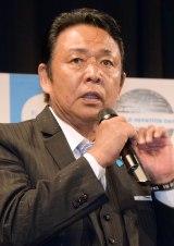 『知って、肝炎プロジェクトミーティング2016』に出席した山本譲二 (C)ORICON NewS inc.