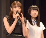 『知って、肝炎プロジェクトミーティング2016』に出席したAKB48(左から)木崎ゆりあ、川本紗矢 (C)ORICON NewS inc.