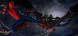 『スパイダーマン:ホームカミング』悪役ヴァルチャーの姿が収められたコンセプトアート (C)Marvel Studios 2016. (C)2016 CTMG. All Rights Reserved.