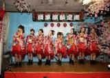 老舗CDショップ「ヨーロー堂」でインストアイベントを開催した民謡ガールズ