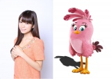 映画『アングリーバード』に登場するピンク色の鳥・ステラの日本語吹き替え声優を務める三森すずこ
