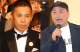 (左から)岡村隆史、山本圭壱 (C)ORICON NewS inc.