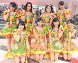 新曲『サンバ!こぶしジャネイロ/バッチ来い青春!/オラはにんきもの』発売記念イベントに出席したこぶしファクトリー (C)ORICON NewS inc.