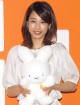 子どもたちに絵本の読み聞かせをした加藤綾子アナウンサー (C)ORICON NewS inc.