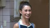 日本テレビ系バラエティ『解決!ナイナイアンサー』(毎週火曜 後9:00)の『家呑みあさこ』のコーナーに出演するダレノガレ明美(C)日本テレビ