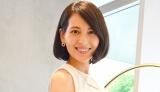 取材に応じたフリーアナウンサーの青木裕子