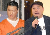 (左から)加藤浩次、山本圭壱 (C)ORICON NewS inc.