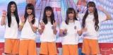 イベントを行った、夢みるアドレセンス(左から)小林れい、志田友美、荻野可鈴、京佳、山田朱莉