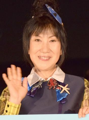 映画『ファインディング・ドリー』大ヒット御礼舞台あいさつに登壇した室井滋 (C)ORICON NewS inc.