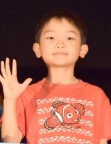 ニモの声優を担当した菊地慶くん=映画『ファインディング・ドリー』大ヒット御礼舞台あいさつ (C)ORICON NewS inc.