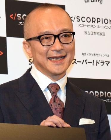 山田五郎氏=海外ドラマ『SCORPION/スコーピオン シーズン2』プレミア試写会 (C)ORICON NewS inc.