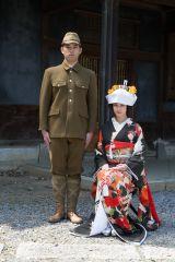 戦地に出陣する直前の結婚式の写真を初公開(C)テレビ朝日