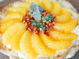 PABLOの『たっぷりオレンジのチーズタルト』を食べてみた! (C)oricon ME inc.