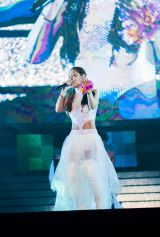 『FEVER a-nation by SANKYO』に出演した浜崎あゆみ