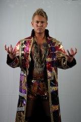 『タイガーマスクW』のスペシャルイベントにもアニメにも登場する現IWGPヘビー級王者のオカダカズチカ選手(C) 新日本プロレス