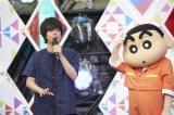 「オラはにんきもの25th MIX」のアレンジを手がけたヒャダイン(前山田健一)=東京・六本木ヒルズアリーナ『クレヨンしんちゃん』ショー