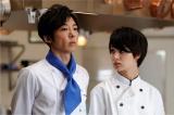 高橋一生が演じる清沢は官邸料理人として切磋琢磨しあう存在(C)テレビ朝日