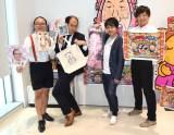 (左から)たかし、斎藤司、井上裕介、しずちゃん (C)ORICON NewS inc.