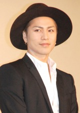 映画『HiGH&LOW THE MOVIE』大ヒット舞台あいさつに出席した登坂広臣 (C)ORICON NewS inc.