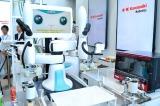 ショールームには、さまざまな産業用ロボットがズラリ (C)oricon ME inc.