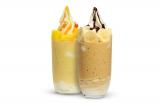 『ヨーグルトスムージー』はストロベリー、マンゴー、チョコバナナの3種類で展開
