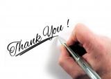 """「Thank you」以外の様々な""""感謝を表すフレーズ""""を紹介する"""