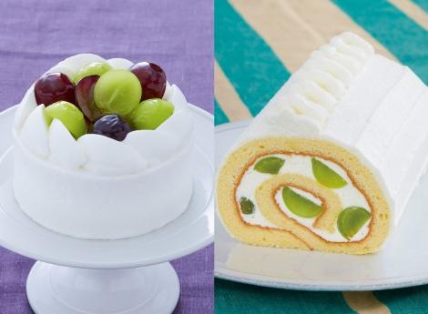シャインマスカットを使ったケーキが「パティスリー キハチ」から登場
