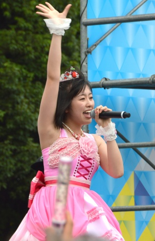 『TOKYO IDOL FESTIVAL 2016』を盛り上げたももいろクローバーZ・佐々木彩夏 (C)ORICON NewS inc.