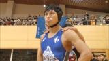 春日俊彰がマスターズレスリングの日本代表に挑戦したが、4位で選出ならず (C)TBS