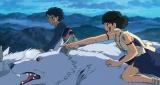 スタジオジブリの宮�ア駿監督による大ヒット映画『もののけ姫』(1997)場面カット(C)1997 Studio Ghibli・ND
