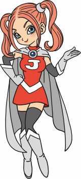 集英社が新漫画アプリ『Myジャンプ』のマスコットキャラ「マイ」(C)バードスタジオ/集英社