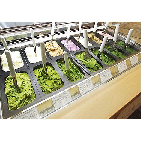 """抹茶の濃度は7段階! """"世界で一番濃い抹茶ジェラート""""が味わえる「ななや」直営店が東京にオープン"""