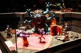 ドラゴンクエスト4のジオラマ展示(C)岩村美