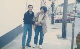英国アイルランド地方を旅行した若き日の鈴木敏夫プロデューサー(左)と押井守監督(C)I.G Films