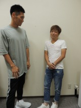 (左から)レイザーラモンHG、土肥ポン太