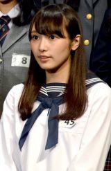 「乃木坂46さんに負けないくらいかわいくて、仲良しなグループにしたい」と話した最年長の渡辺梨加 (C)ORICON NewS inc.