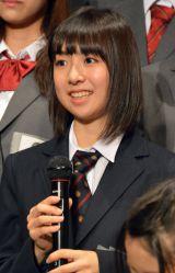 「乃木坂46さん、AKB48さんと肩を並べられるくらいのグループになりたい」と話した鈴木泉帆 (C)ORICON NewS inc.