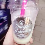 アイスクリームが入った冷たいオリジナルドリンク「スムーピー」 (C)oricon ME inc.