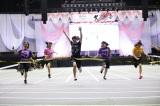 50メートル走2連覇を達成したチーム8の近藤萌恵里(C)AKS