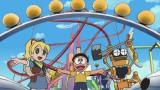 ひたむきな未来の少女・コニー(左)が完成させた飛行船ゆうえんちがピンチに(C)藤子プロ・小学館・テレビ朝日・シンエイ・ADK
