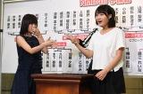 NMB48予備戦では山本彩(左)が城恵理子に敗退(C)AKS