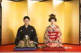 NHK連続テレビ小説『とと姉ちゃん』三姉妹の次女・鞠子(相楽樹)が結婚(C)NHK
