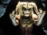 『大ゴジラ特撮王国 YOKOHAMA』で展示されている『ゴジラ FINAL WARS』(2004年)キングシーサー (C)ORICON NewS inc.